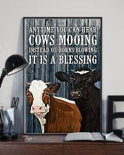 You Can Hear Cows Mooing 11x17 Poster lifestyle-poster-2