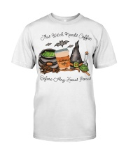 This Witch Needs Coffee Classic T-Shirt tile