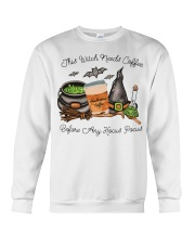 This Witch Needs Coffee Crewneck Sweatshirt thumbnail