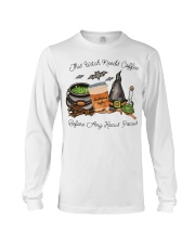 This Witch Needs Coffee Long Sleeve Tee thumbnail