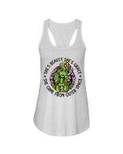 She Came From Outer Space Ladies Flowy Tank thumbnail