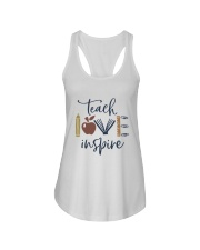 Teach Love Inspire Ladies Flowy Tank thumbnail