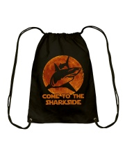Come To The Sharkside Drawstring Bag thumbnail