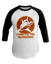 Come To The Sharkside Baseball Tee thumbnail