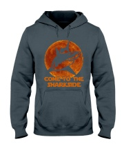 Come To The Sharkside Hooded Sweatshirt thumbnail