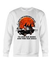 Into The Darkness We Go Crewneck Sweatshirt thumbnail