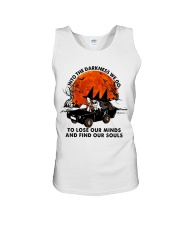 Into The Darkness We Go Unisex Tank thumbnail