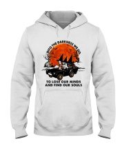 Into The Darkness We Go Hooded Sweatshirt thumbnail