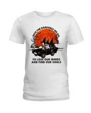 Into The Darkness We Go Ladies T-Shirt thumbnail