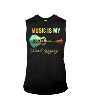 Music Is My Second Language Sleeveless Tee thumbnail