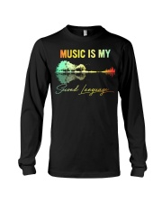Music Is My Second Language Long Sleeve Tee thumbnail