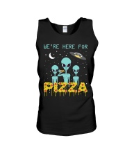 We Are Here For Pizza Unisex Tank thumbnail