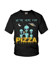 We Are Here For Pizza Youth T-Shirt thumbnail