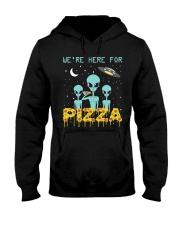 We Are Here For Pizza Hooded Sweatshirt thumbnail