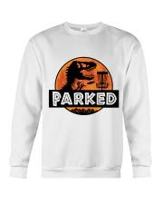 Funny Parked Crewneck Sweatshirt thumbnail