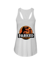 Funny Parked Ladies Flowy Tank thumbnail