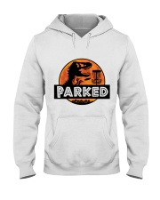 Funny Parked Hooded Sweatshirt thumbnail