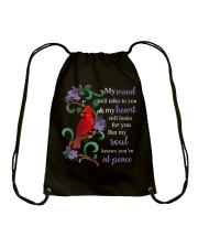 You Are At Peace Drawstring Bag thumbnail