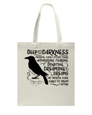 Deep Into That Darkness Tote Bag thumbnail