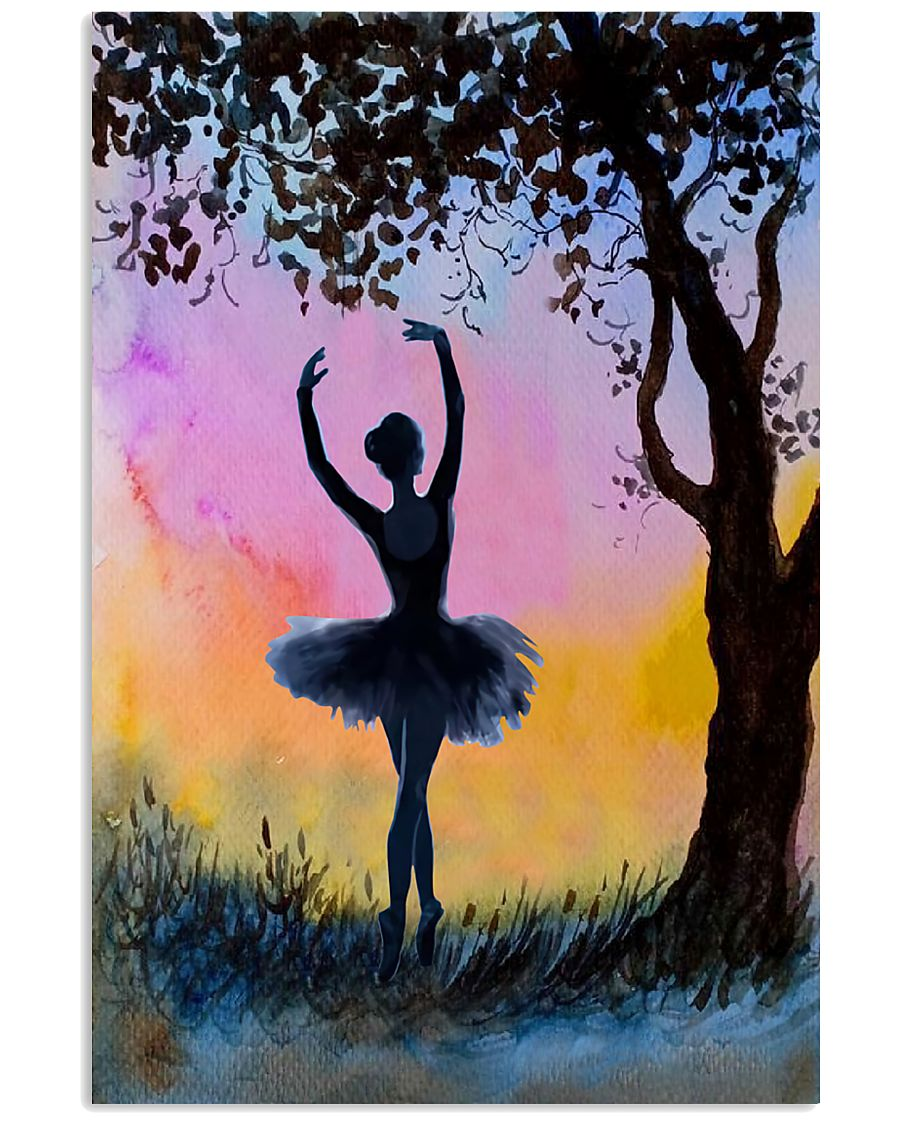 Just A Girl Loves Ballet 11x17 Poster