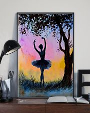 Just A Girl Loves Ballet 11x17 Poster lifestyle-poster-2