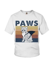 Paws Cat Youth T-Shirt thumbnail