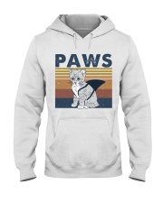 Paws Cat Hooded Sweatshirt front
