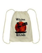 Witches With Hitches Drawstring Bag thumbnail