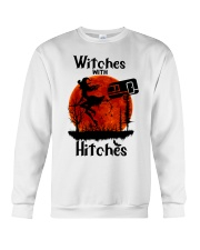 Witches With Hitches Crewneck Sweatshirt thumbnail