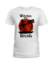 Witches With Hitches Ladies T-Shirt thumbnail
