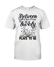 Between The Pages Of A Book Classic T-Shirt front