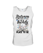 Between The Pages Of A Book Unisex Tank thumbnail