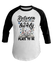 Between The Pages Of A Book Baseball Tee thumbnail