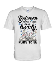 Between The Pages Of A Book V-Neck T-Shirt thumbnail