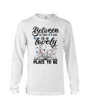 Between The Pages Of A Book Long Sleeve Tee thumbnail