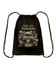 Roll For Initiative Drawstring Bag thumbnail