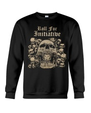 Roll For Initiative Crewneck Sweatshirt thumbnail