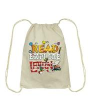 Read Explore Drawstring Bag thumbnail