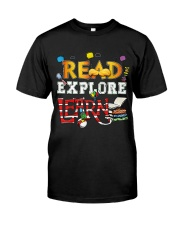 Read Explore Classic T-Shirt front