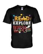 Read Explore V-Neck T-Shirt thumbnail