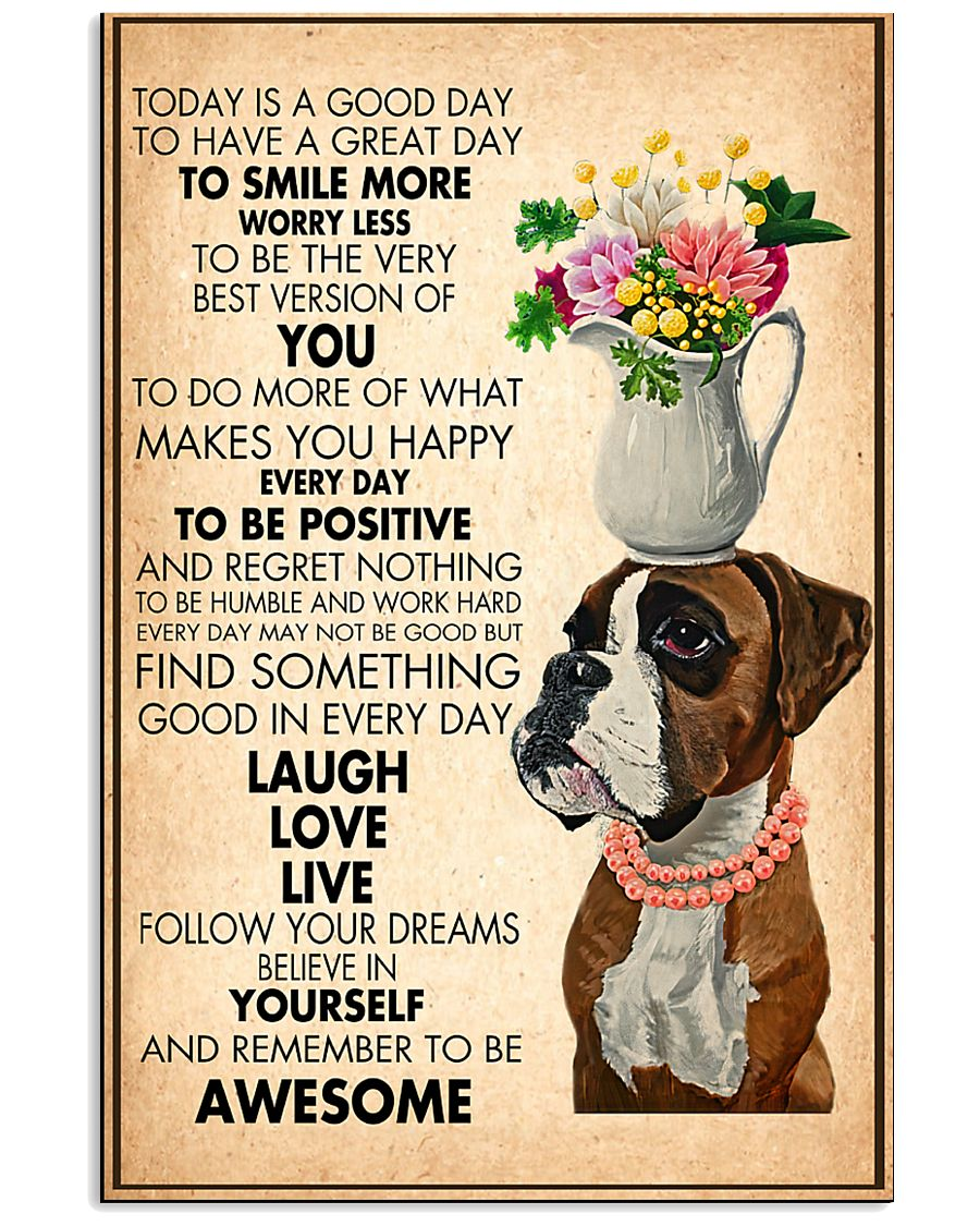 Dog Laugh Love Live 11x17 Poster