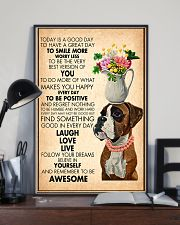Dog Laugh Love Live 11x17 Poster lifestyle-poster-2