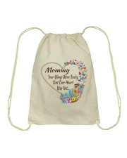 Mommy Your Wings Were Ready Drawstring Bag thumbnail