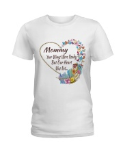Mommy Your Wings Were Ready Ladies T-Shirt thumbnail