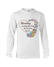 Mommy Your Wings Were Ready Long Sleeve Tee thumbnail