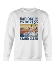 Bad Day In Progress Crewneck Sweatshirt thumbnail