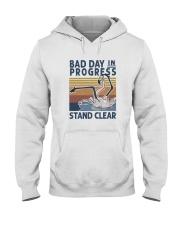 Bad Day In Progress Hooded Sweatshirt front