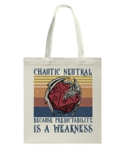 Chaotic Neutral Tote Bag thumbnail