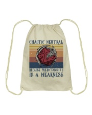 Chaotic Neutral Drawstring Bag thumbnail