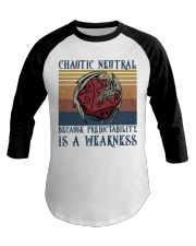 Chaotic Neutral Baseball Tee thumbnail